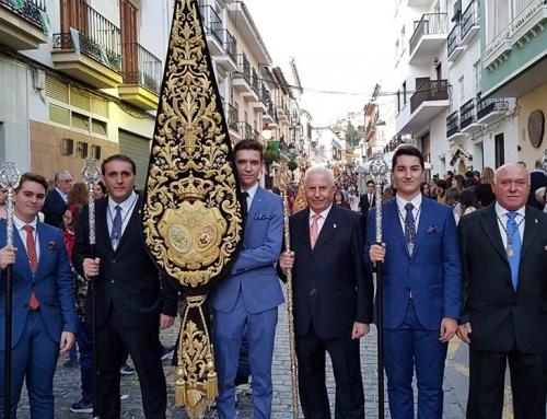 Nuestra Hermandad acompañó corporativamente en la tarde de ayer a la Santísima Virgen de los Remedios Coronada