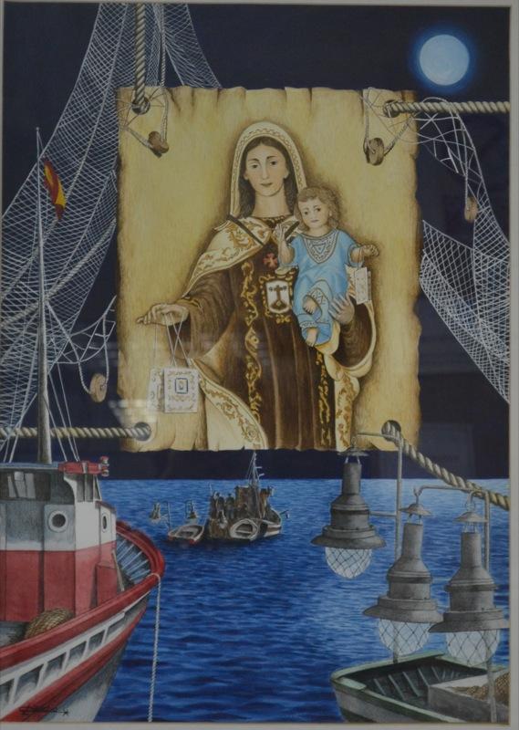hermandad-virgen-del-carmen-torre-del-mar-cartel-2000-claudio-lopez