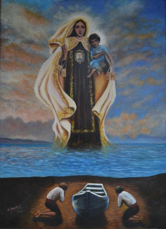 hermandad-virgen-del-carmen-torre-del-mar-cartel-2003-luisa-linde