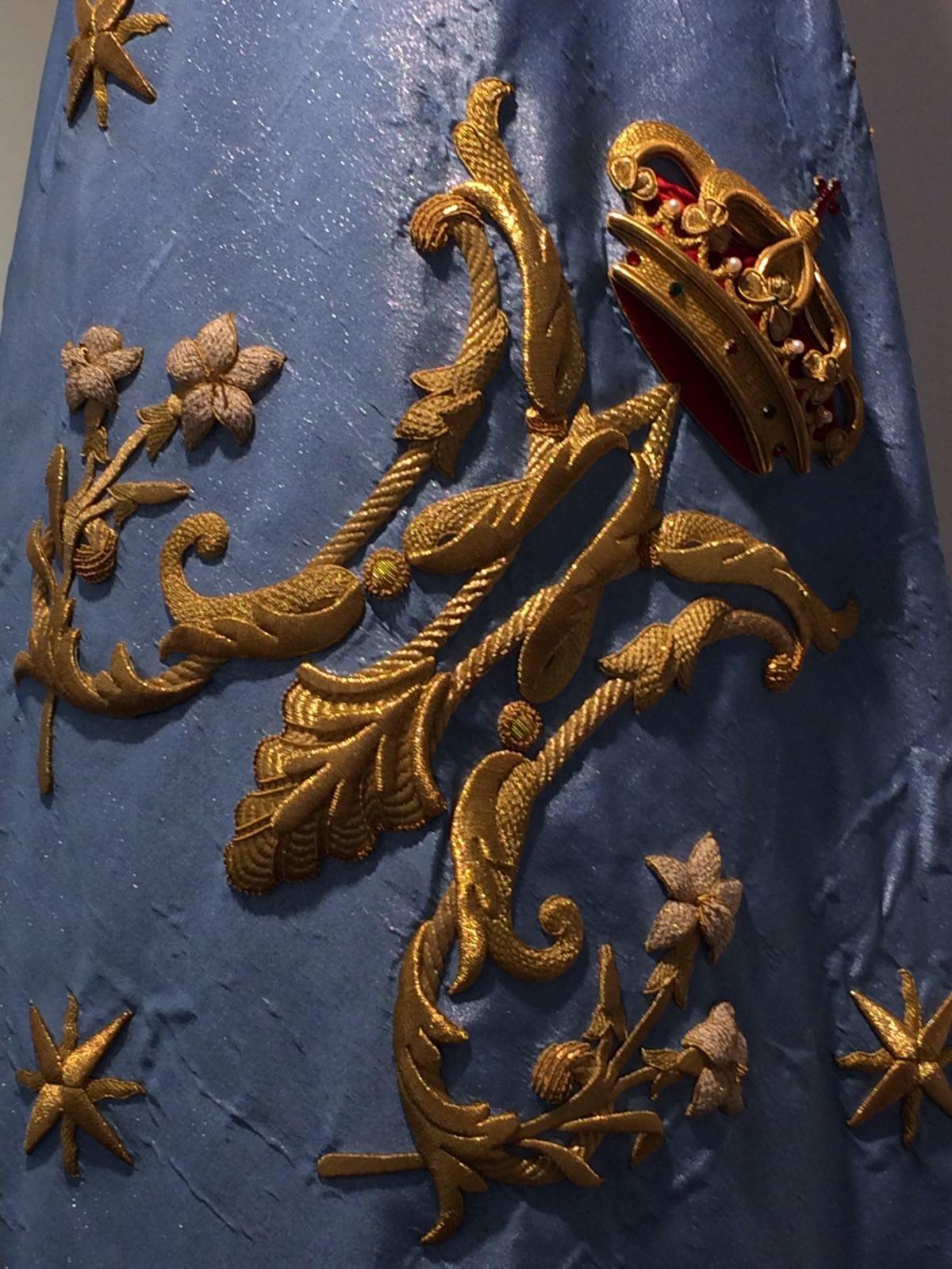 Detalle Bandera Mariana